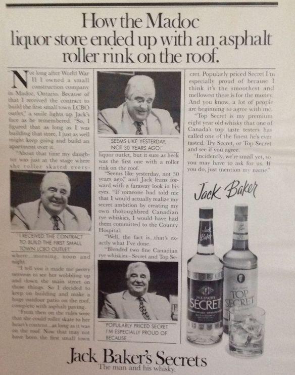 Jack Baker: roller rink