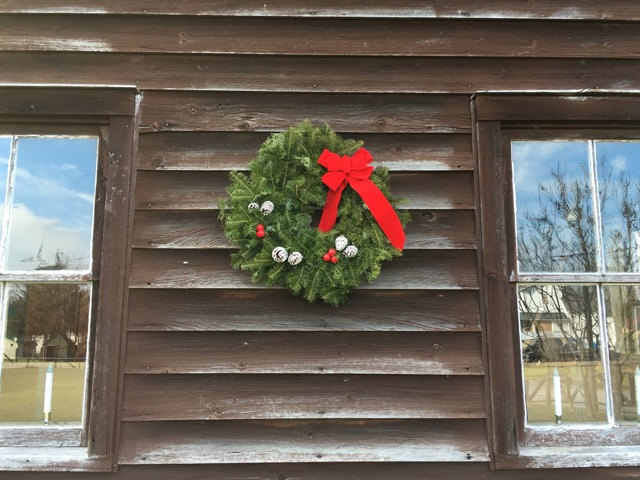 Wreath on the Kincaid House