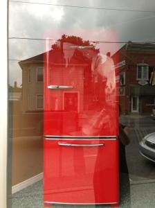 Red Northstar fridge