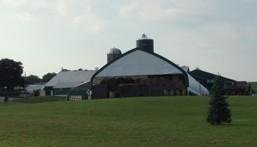 Modern barn, Ridge Road