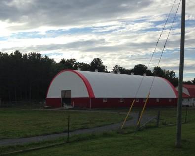 Modern barn, Highway 62