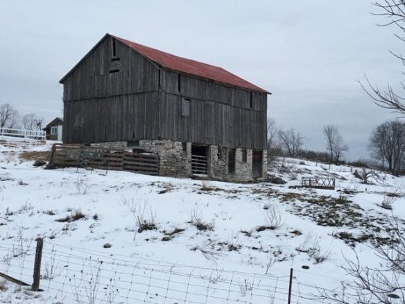 Queensborough Road barn