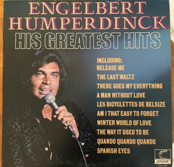Engelbert Humperdinck's Greatest Hits front cover