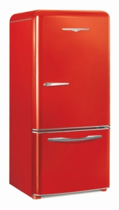 Northstar fridge red