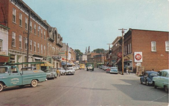 Madoc Ontario c. 1960 (from postcard)