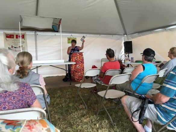 """Elaine talks about """"Historic Queensboro"""""""