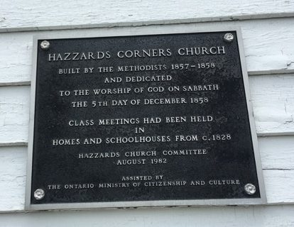 Hazzards Church sign 2