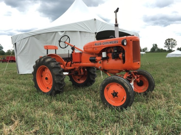 Vintage tractor at the Plowing Match