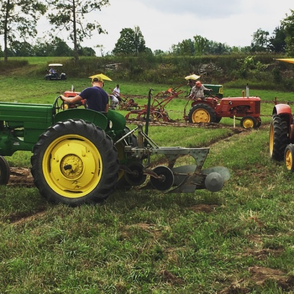Vintage tractors at the Plowing Match