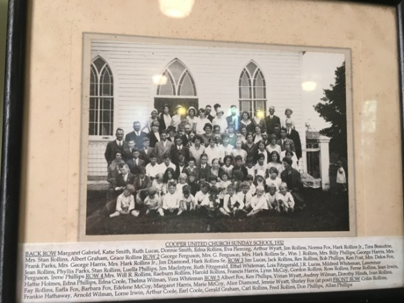 Cooper Sunday School 1932