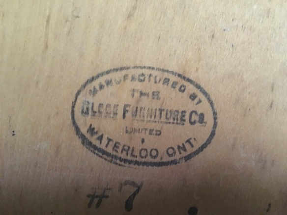 Globe Furniture stamp