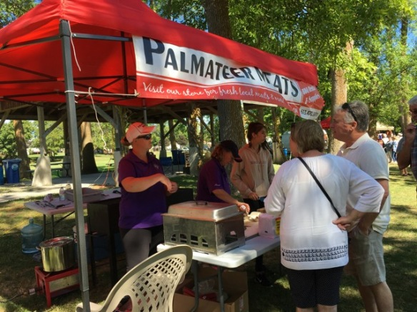Palmateer's at Feast from Farm