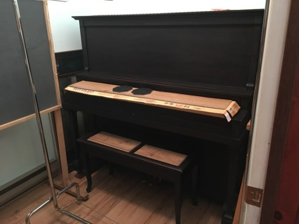 Piano in the closet