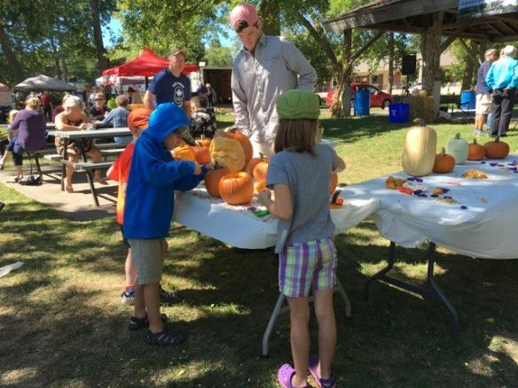 Pumpkin carving, Feast from Farm