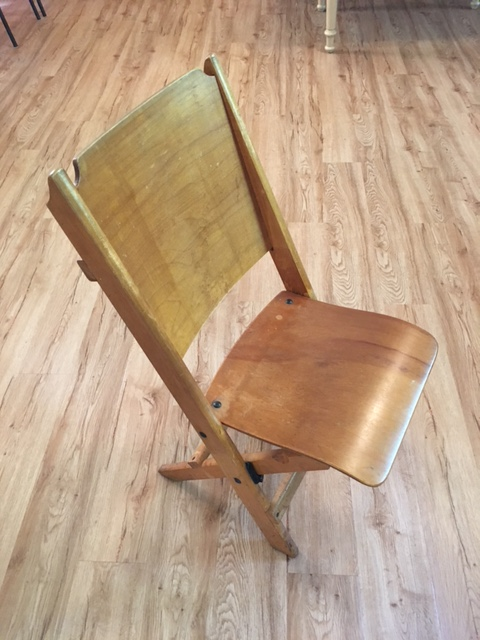 St. Andrew's folding chair