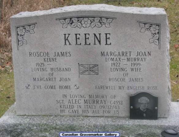 keene-gravestone