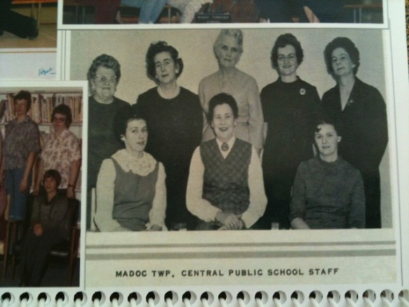Staff of Madoc Township Public School
