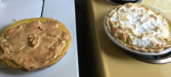 Ruth's pie vs. my pie