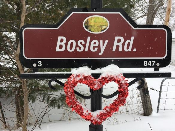 Bosley Road valentine