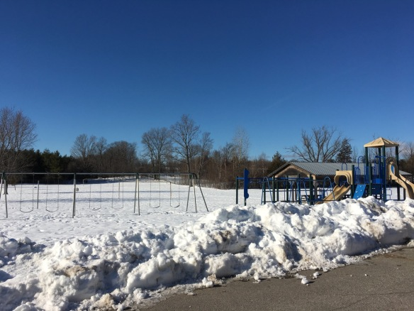 Part of Madoc Township Public School playground