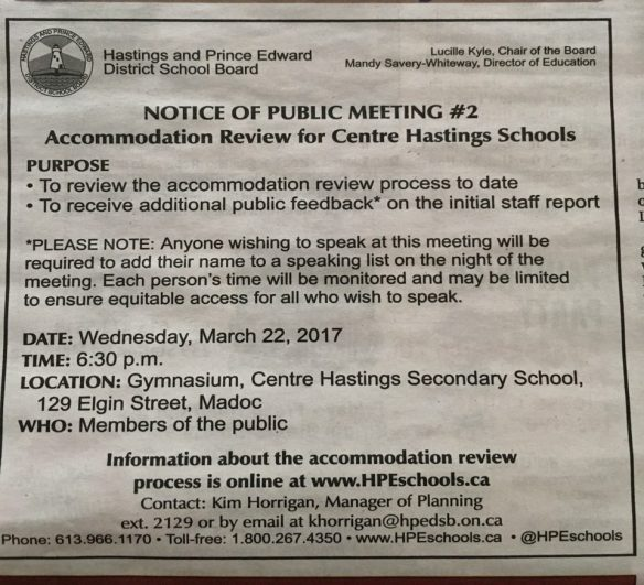 Notice about Public Meeting #2