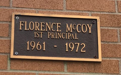 Florence McCoy, 1st Principal
