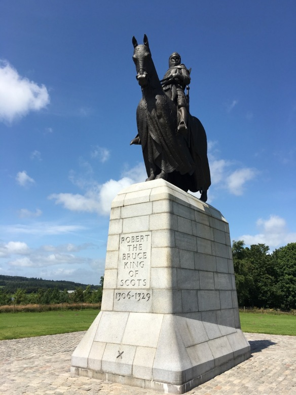 Robert the Bruce at Bannockburn