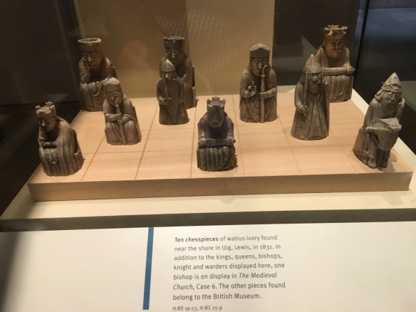 The Lewis Chessmen, National Museum of Scotland