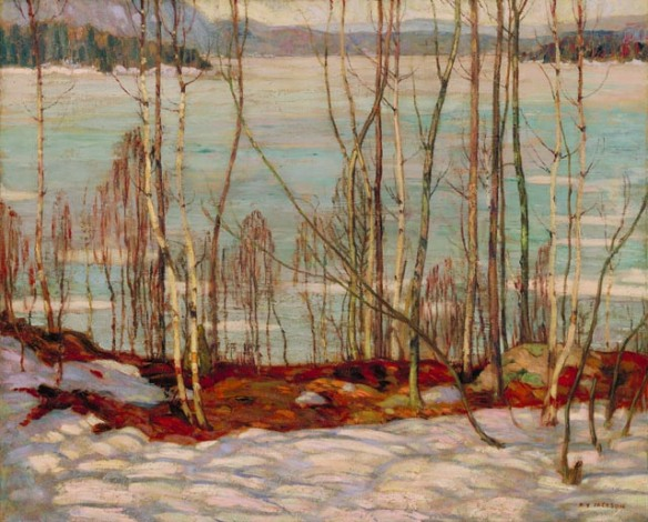 AY-Jackson-Frozen-Lake-Early-Spring-Algonquin-Park-1914