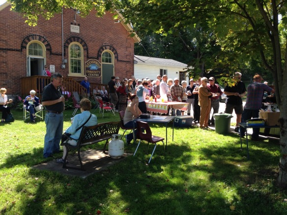 Barbecue on Historic Queensborough Day 2014