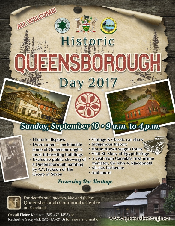 Historic Queensborough Day 2017 poster