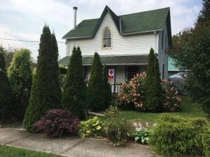 Historic home under renovation