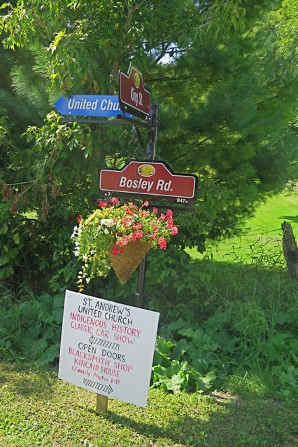 Sign at King Street and Bosley Road by Terry Mandzy