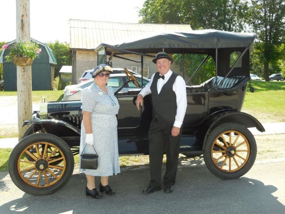 Vintage car at Historic Queensborough Day by Queensborough Beauty