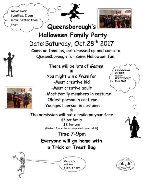 Halloween flyer 2017