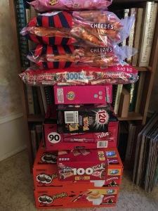 Manse Halloween candy