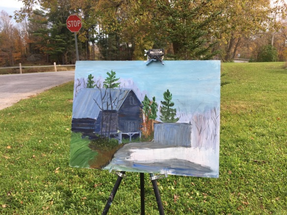 Nicole Amyot's Queensborough work in progress