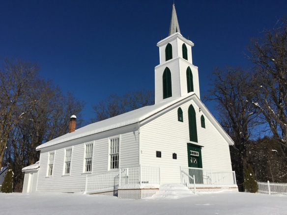 Hazzard's Corners Church, Christmas 2017
