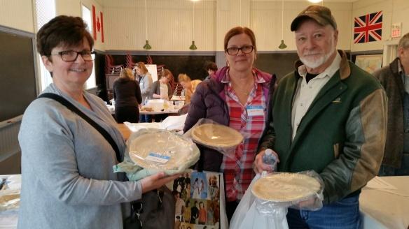 Happy pie-makers
