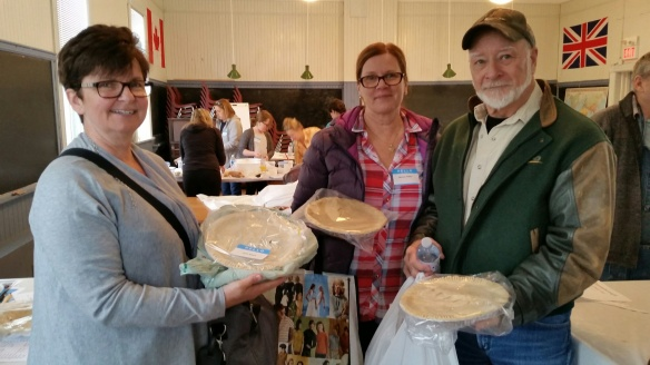 Happy pie-makers
