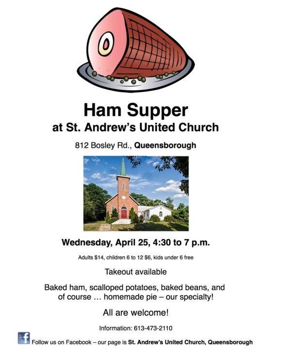 Ham Supper poster 2018