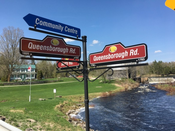 Which direction for Queensborough?