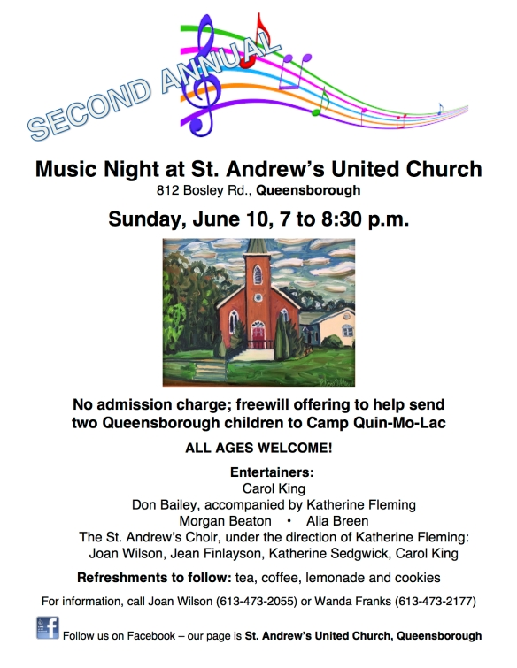 Music at the Church 2018