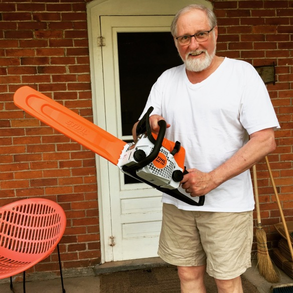 Raymond, chainsaw owner