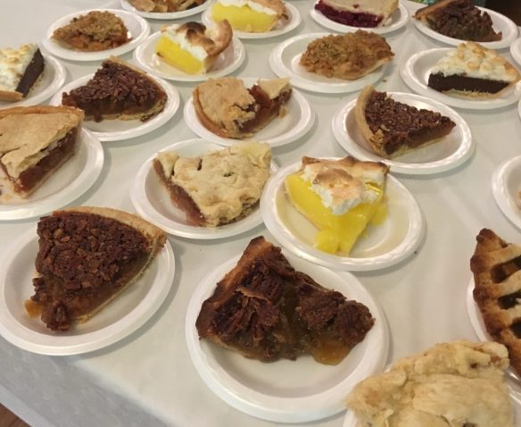 Pie at the Turkey Supper 2018