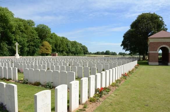 Tilloy cemetery