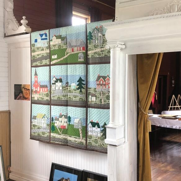Art in Q: Goldie Holmes quilt