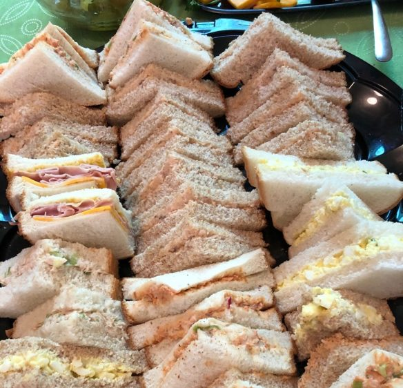 Church-basement sandwiches